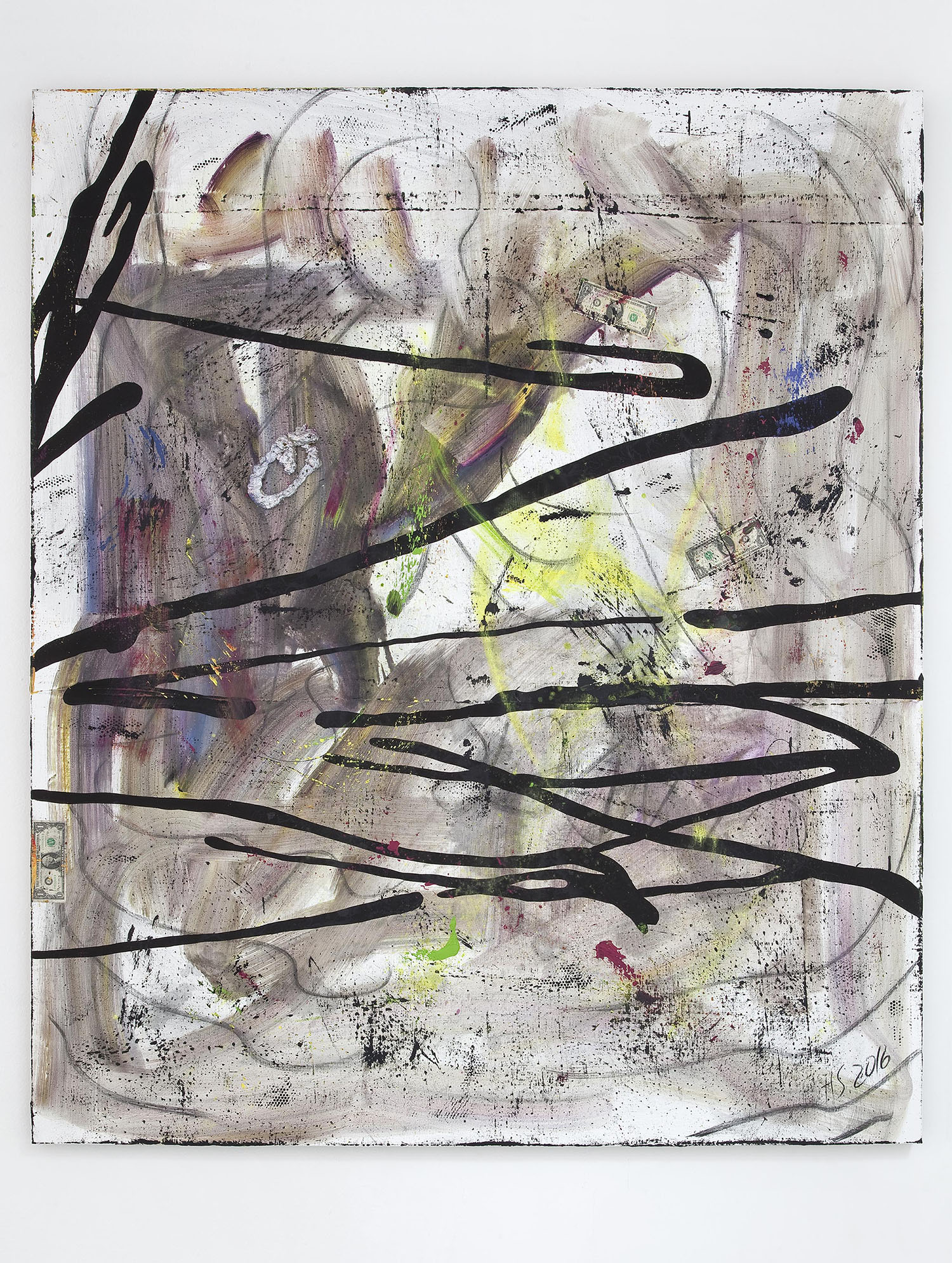 13 - Henning Strassburger Speculative Fiction 2016 oil and foam on canvas 200x140 cm - Courtesy Studiolo Milan copia 2