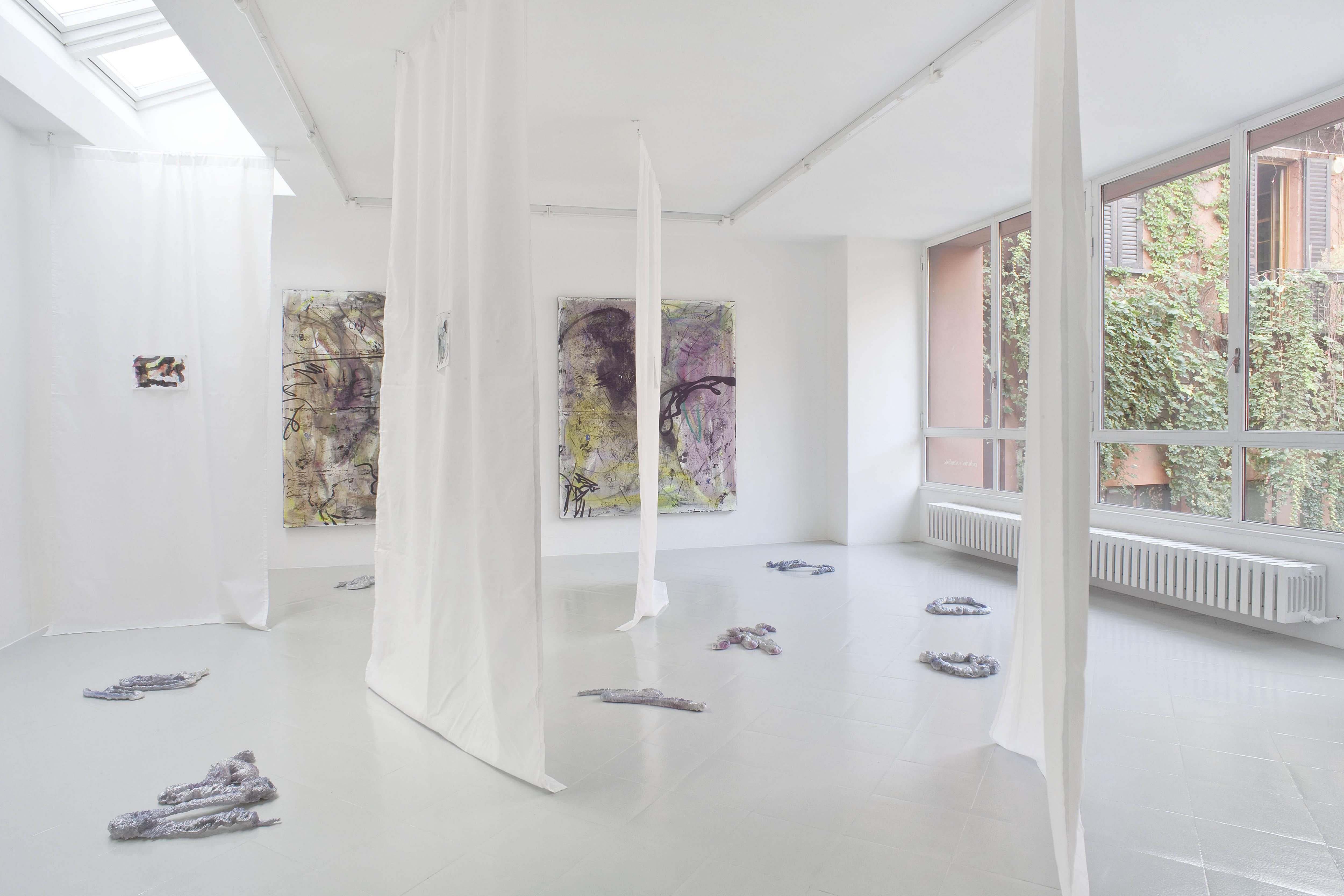 14 - Henning Strassburger Superet Exit System Installation View 2016 Studiolo Milan copia 2