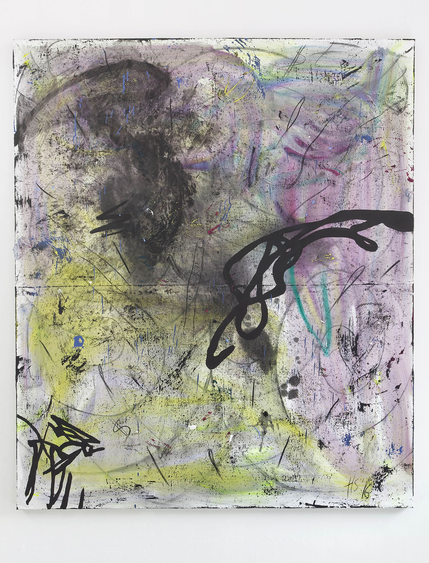 16 - Henning Strassburger Psycho Truth 2016 oil and foam on canvas 200x140 cm - Courtesy Studiolo Milan copia 2