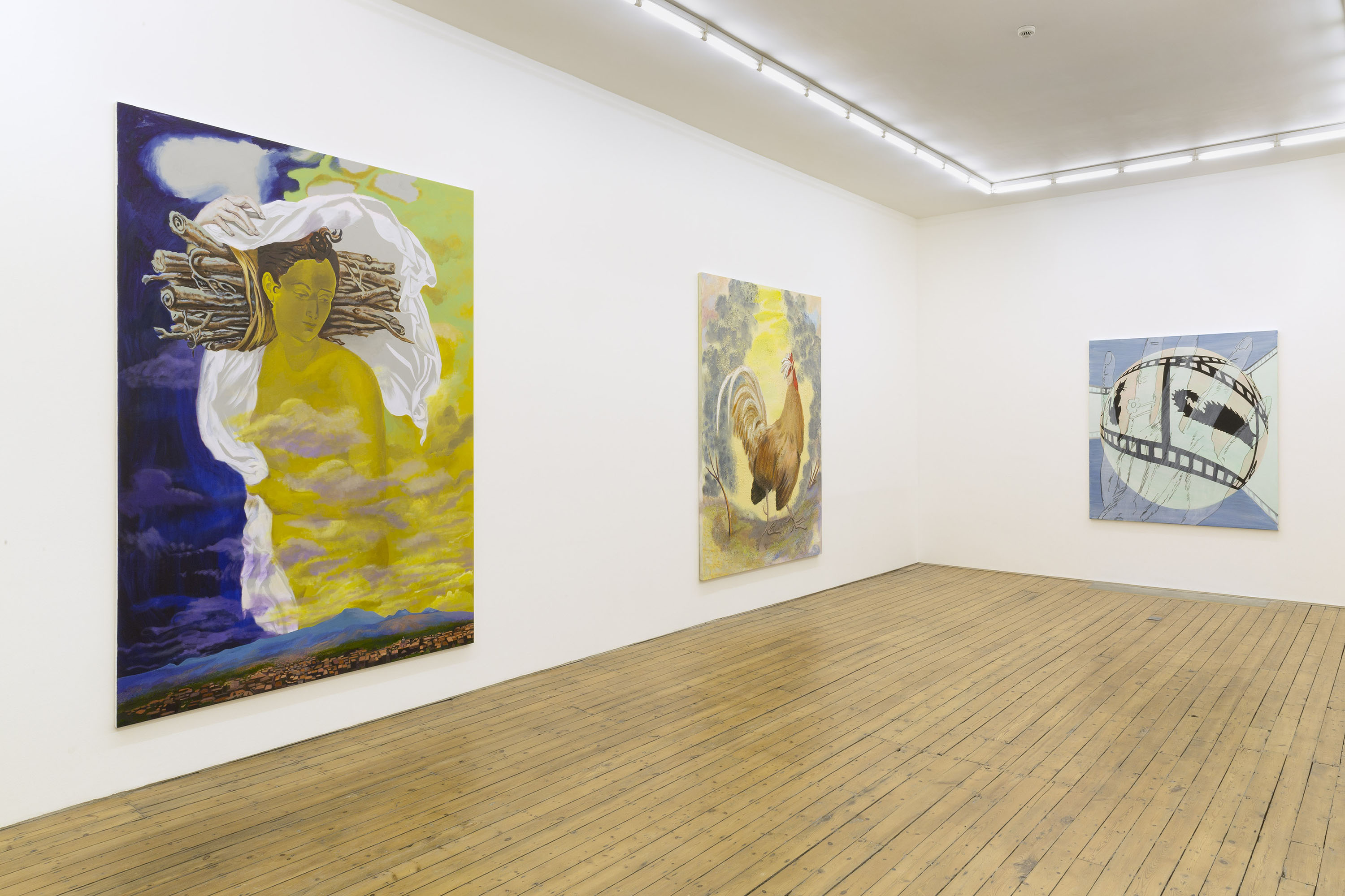 Allison Katz @ The Approach, London