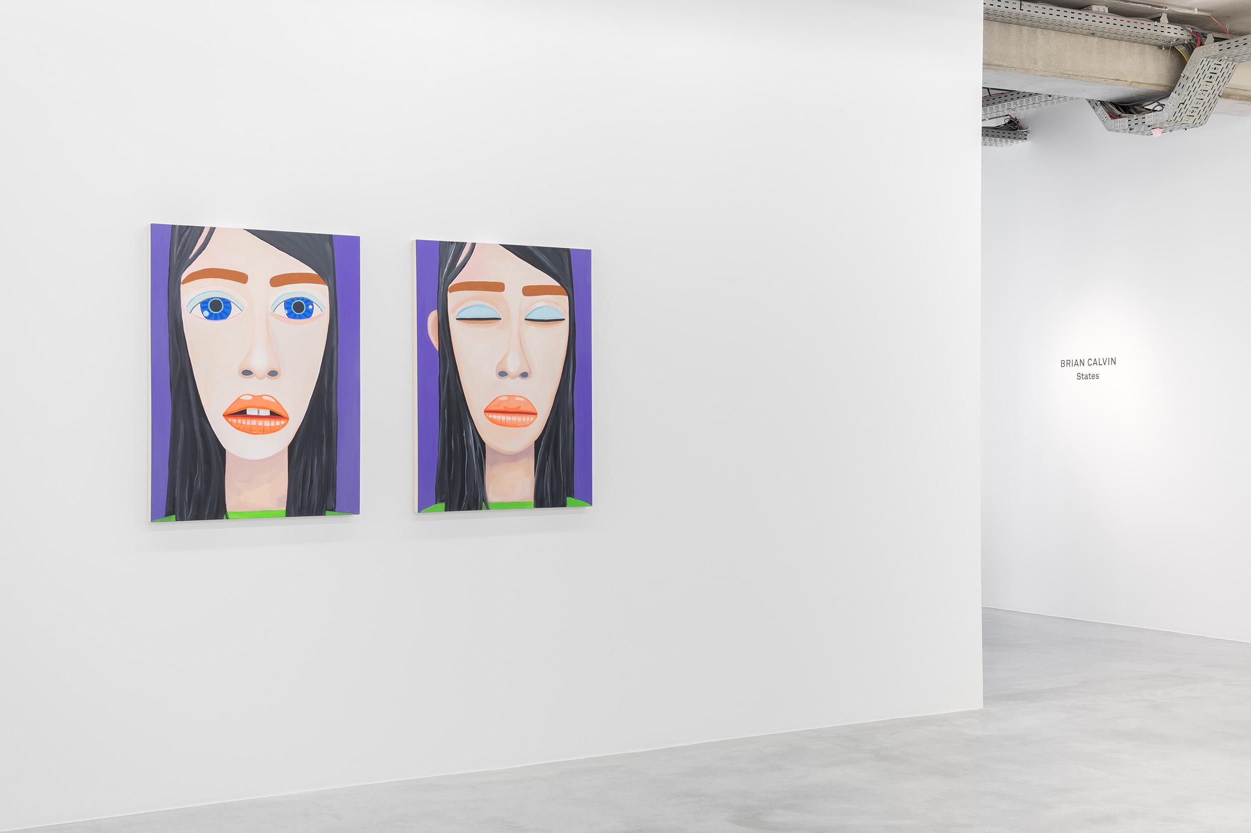 Brian Calvin @ Almine Rech, Brussels