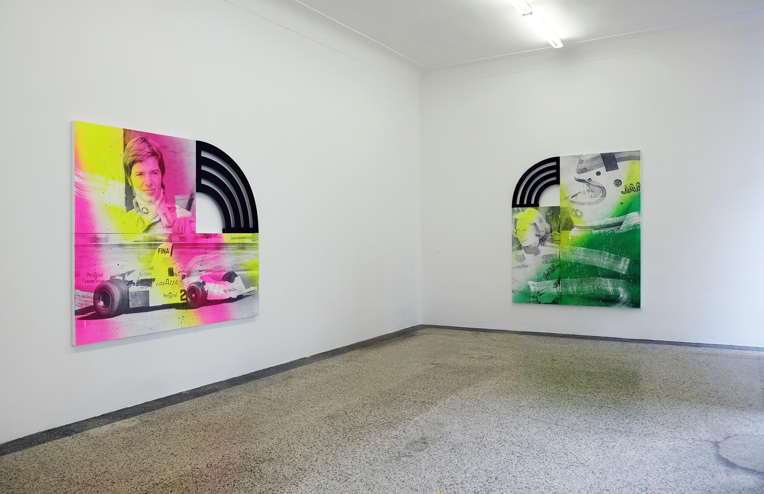 1 - Wendy White at Van Horn Dusseldorf