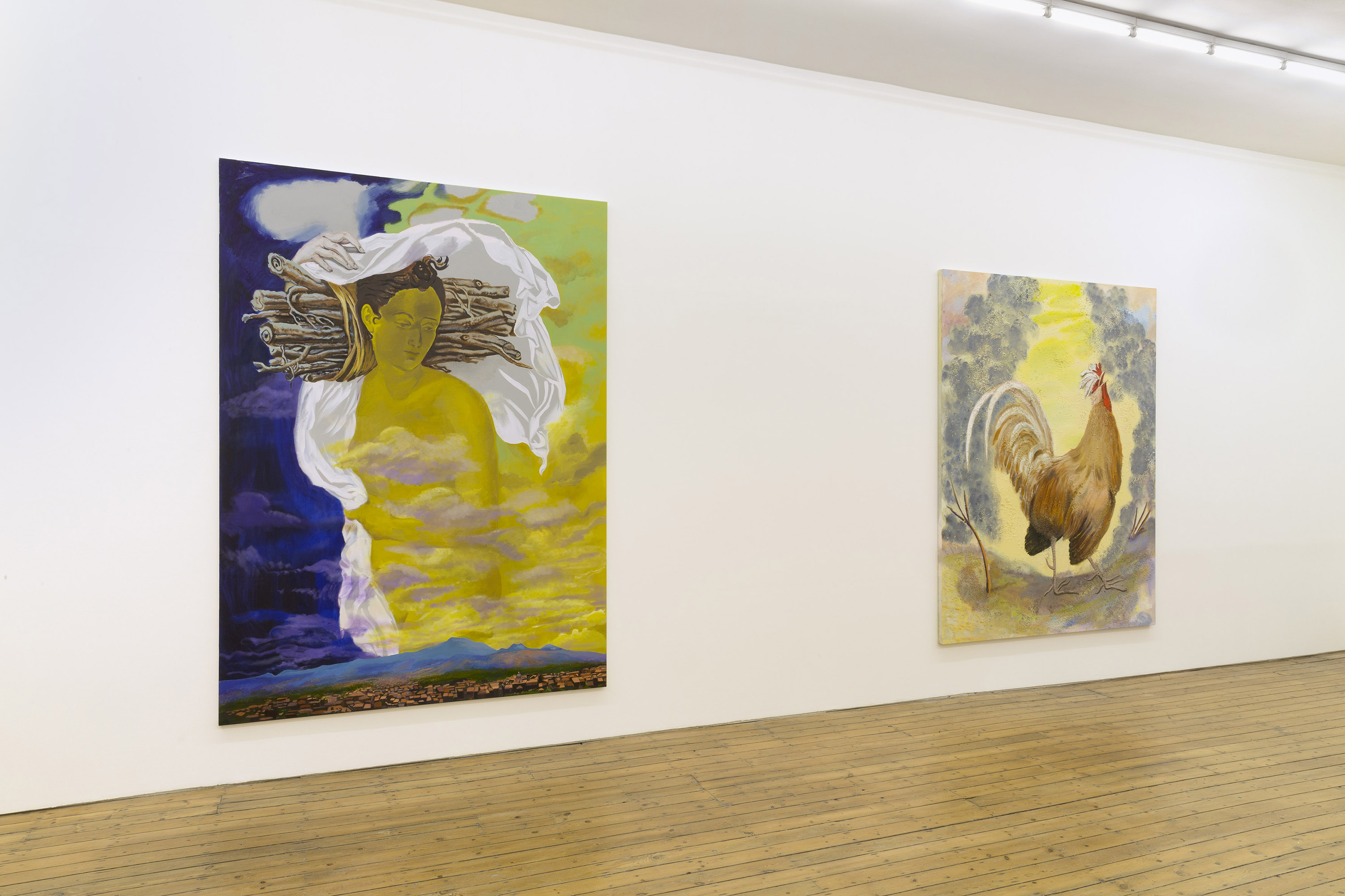 2 - Allison Katz at The Approach London
