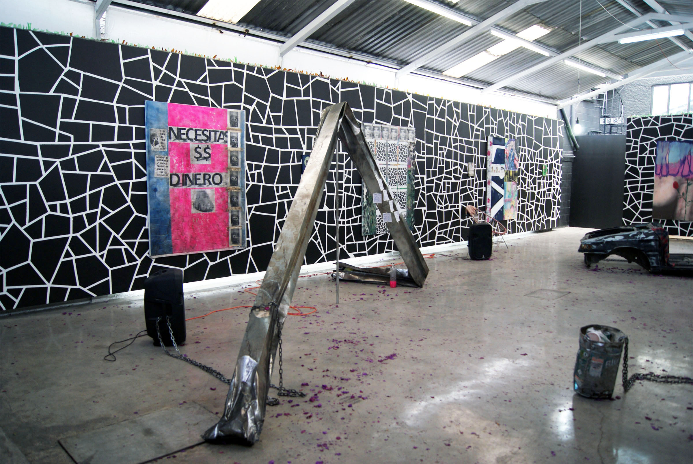 2 - Andrew Birk at Anonymous Gallery Mexico City