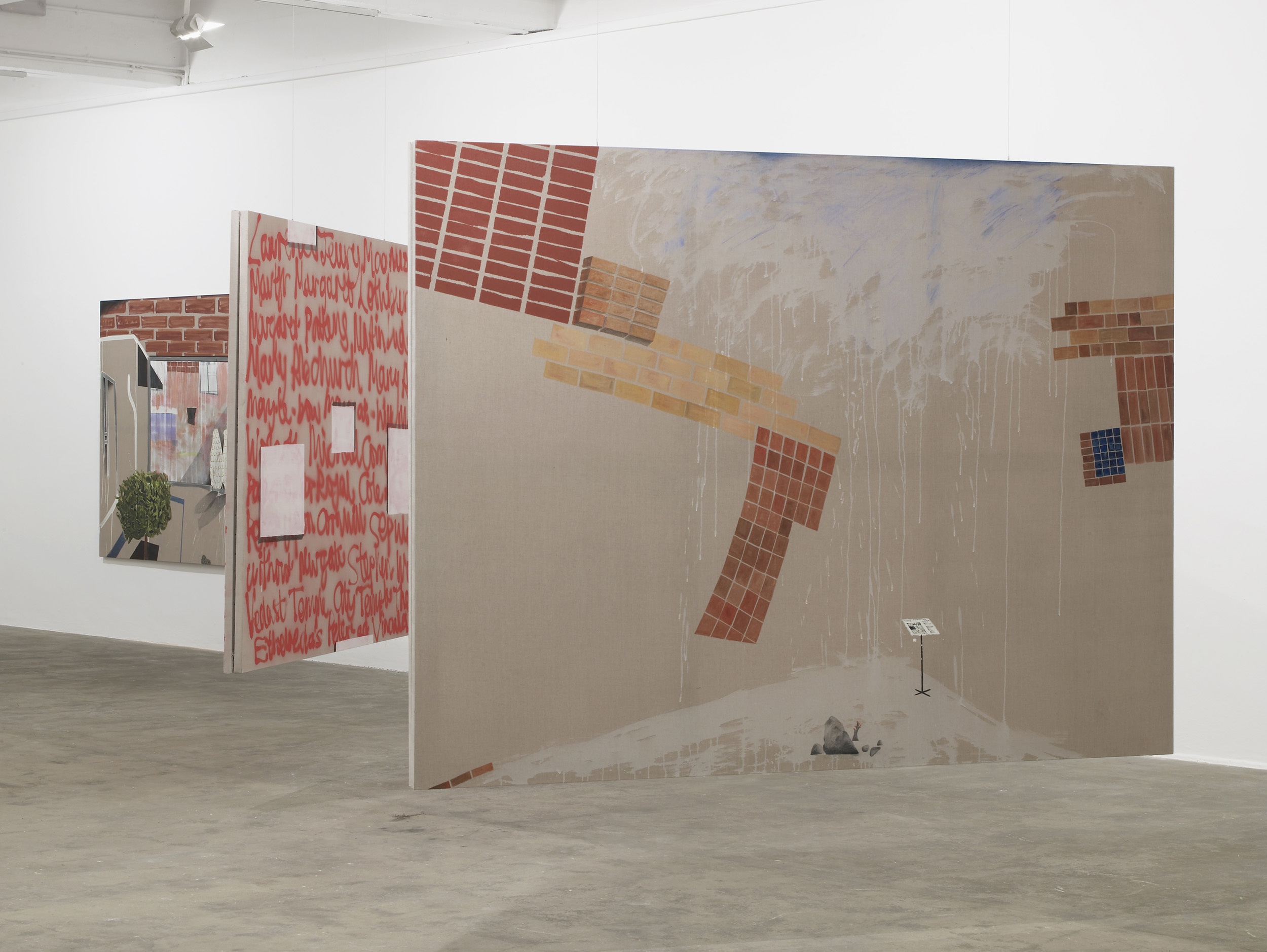 2 - Caragh Thuring at Chisenhale Gallery London