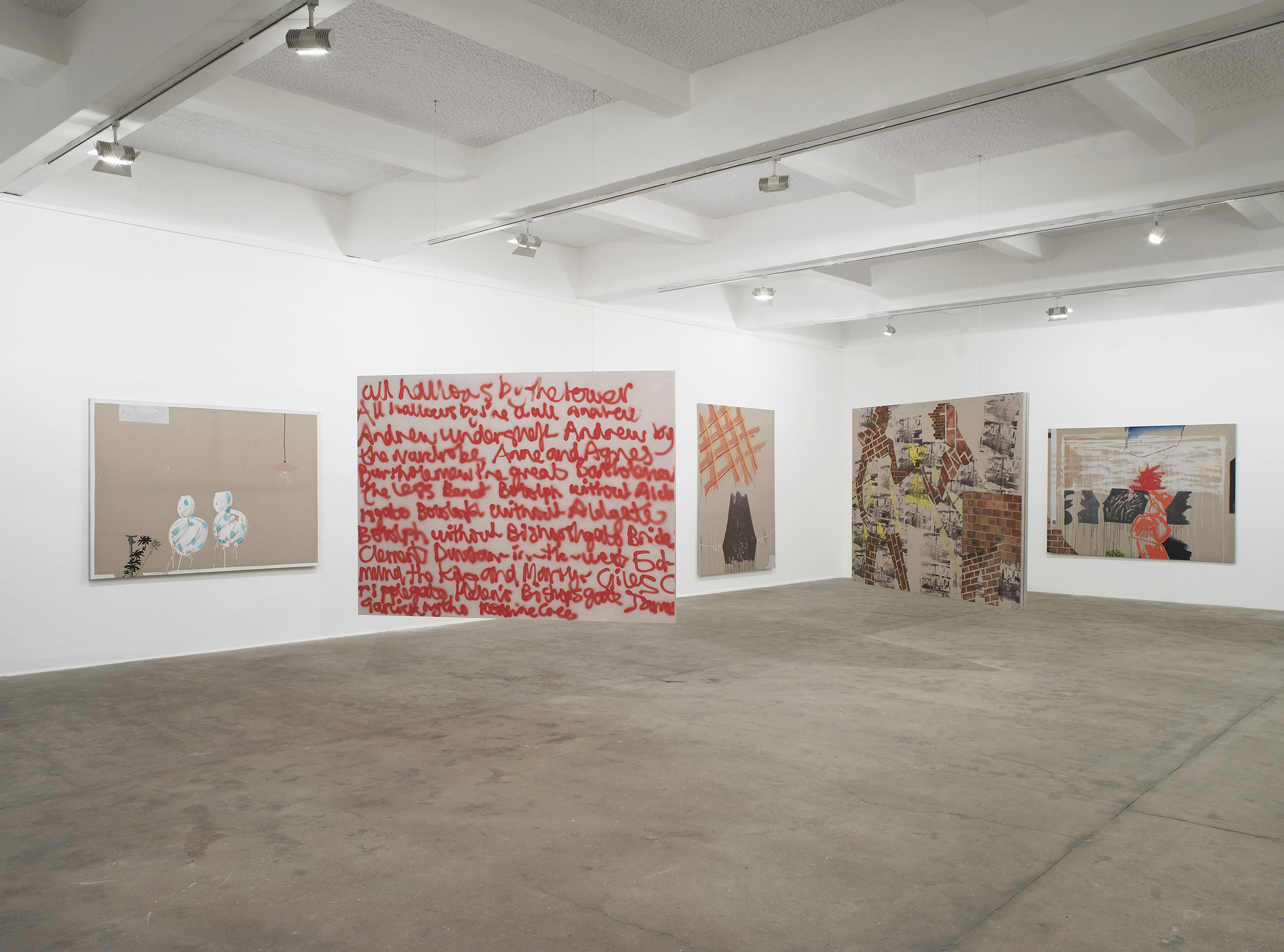 3 - Caragh Thuring at Chisenhale Gallery London