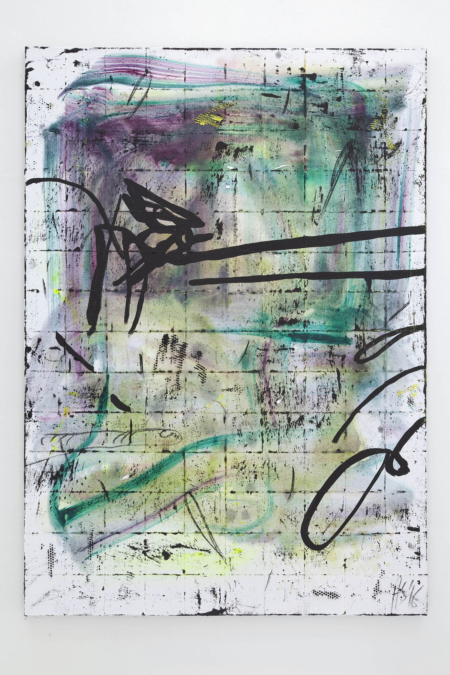 4 - Henning Strassburger High Trip 2016 oil and foam on canvas 140x100 cm - Courtesy Studiolo Milan copia 2