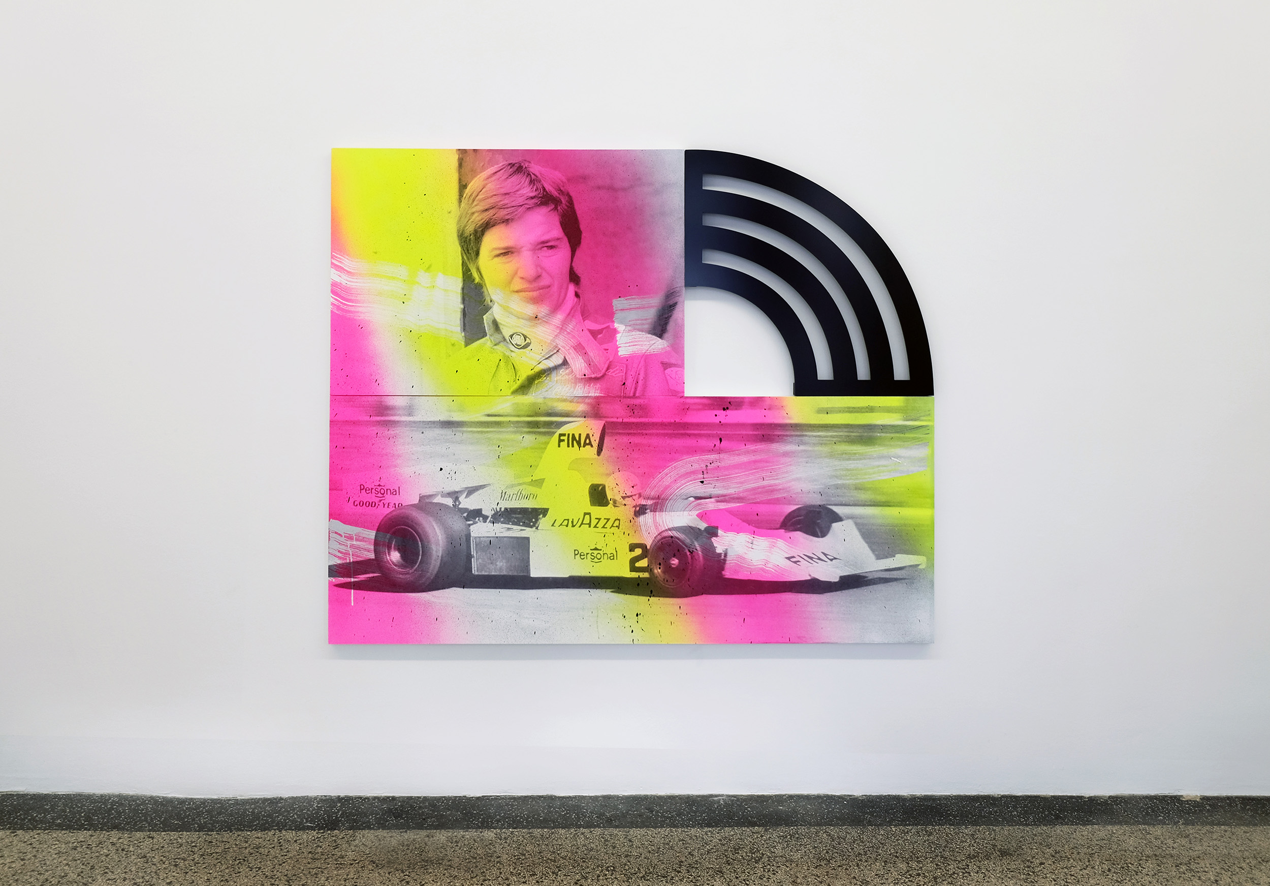 4 - Wendy White at Van Horn Dusseldorf