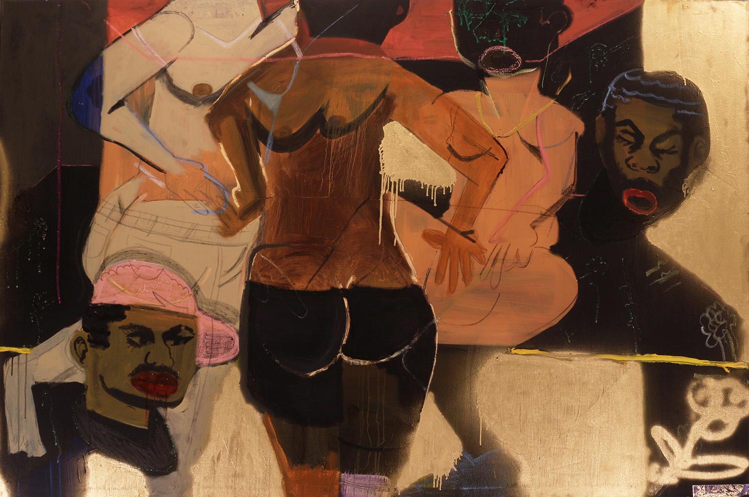 5 - Jonathan Lyndon Chase at Thierry Goldberg New York Gallery