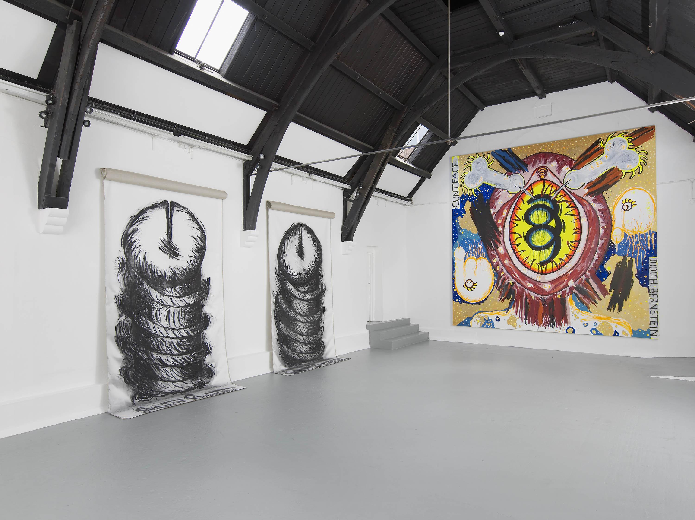 7 - Judith Bernstein at Studio Voltaire London 19.08.2014