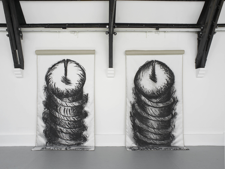 8 - Judith Bernstein at Studio Voltaire London 19.08.2014