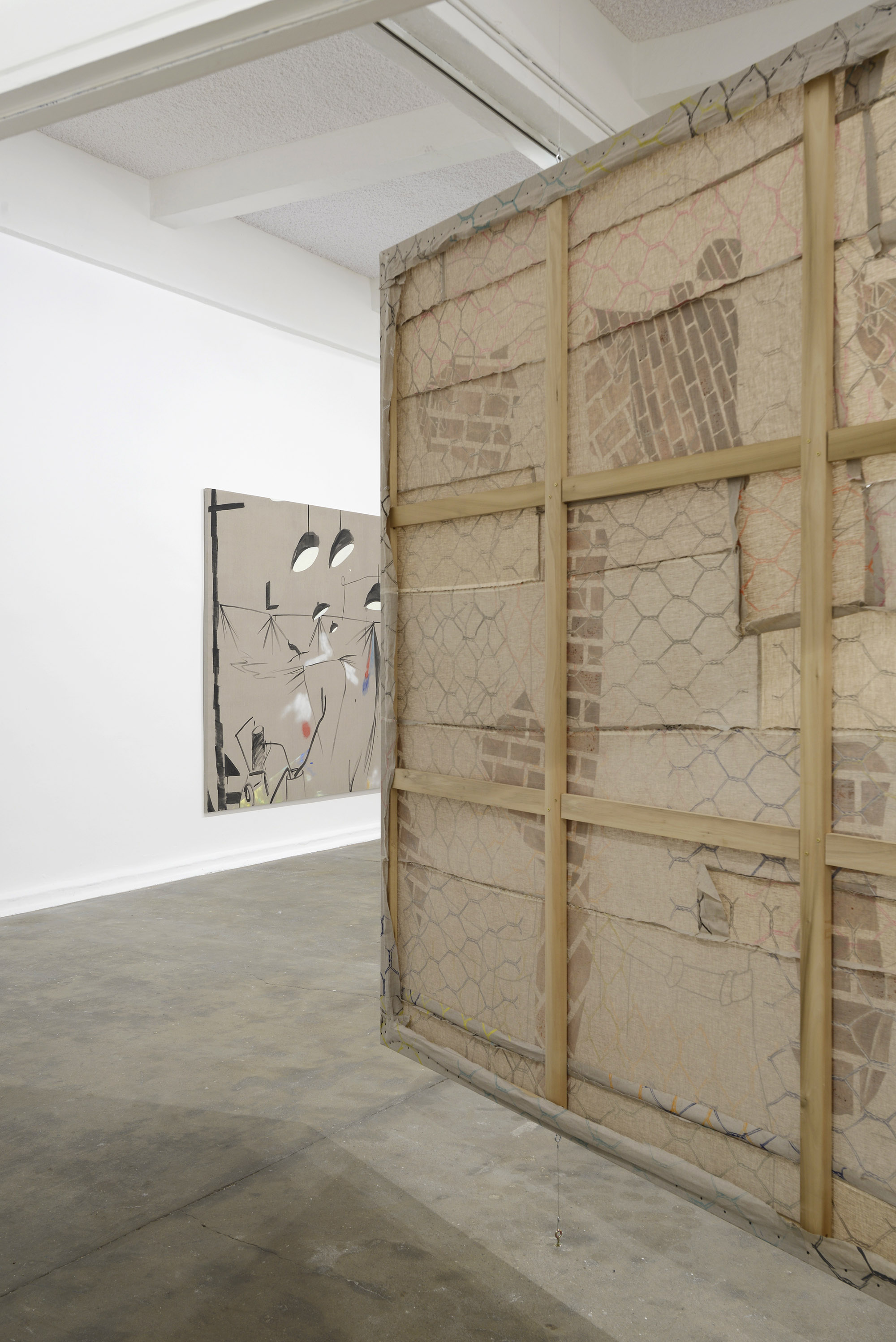 9 - Caragh Thuring at Chisenhale Gallery London