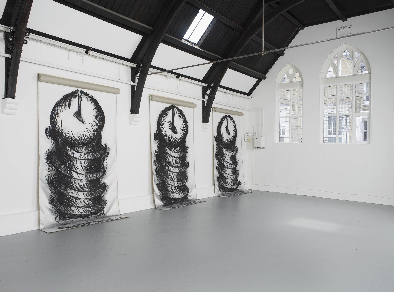 9 - Judith Bernstein at Studio Voltaire London 19.08.2014